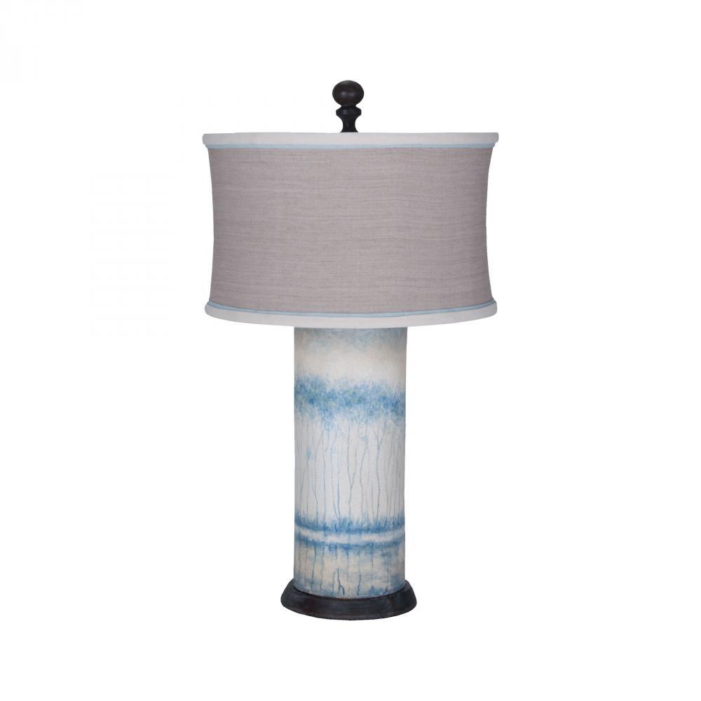 Terra cotta cylinder lamp 355039 caravelle lighting inc terra cotta cylinder lamp aloadofball Image collections